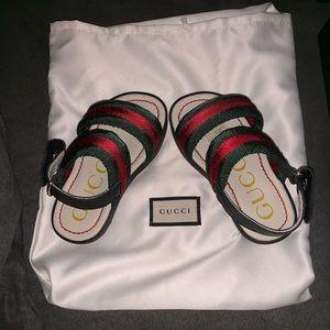 Gucci Double Strap Sandals (Infant Size 4-5)